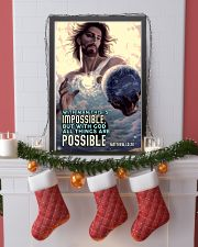 JES10003PT - Jesus Christ All Things Are Possible 11x17 Poster lifestyle-holiday-poster-4