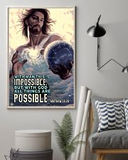 JES10003PT - Jesus Christ All Things Are Possible 11x17 Poster lifestyle-poster-1