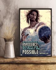 JES10003PT - Jesus Christ All Things Are Possible 11x17 Poster lifestyle-poster-3