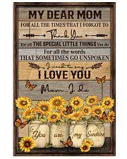 FAM10113CV - My Dear Mom Thank You Vertical Poster tile