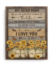 FAM10113CV - My Dear Mom Thank You 11x14 Gallery Wrapped Canvas Prints aos-canvas-pgw-11x14-ghosted-front-02