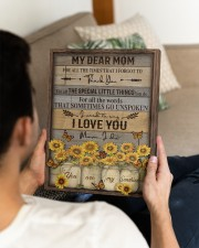 FAM10113CV - My Dear Mom Thank You 11x14 Gallery Wrapped Canvas Prints aos-canvas-pgw-11x14-lifestyle-front-35