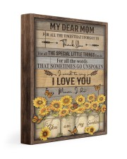 FAM10113CV - My Dear Mom Thank You 11x14 Gallery Wrapped Canvas Prints front