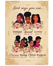 CV10018 - God Says You Are 11x17 Poster front