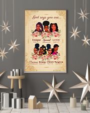 CV10018 - God Says You Are 11x17 Poster lifestyle-holiday-poster-1