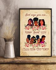 CV10018 - God Says You Are 11x17 Poster lifestyle-poster-3
