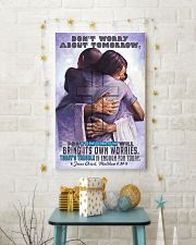 JES10032PT - Jesus Christ Don't Worry Tomorrow 11x17 Poster lifestyle-holiday-poster-3