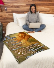 """JES10056BL -  A Prayer For Daughter Small Fleece Blanket - 30"""" x 40"""" aos-coral-fleece-blanket-30x40-lifestyle-front-08"""