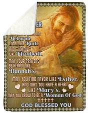 JES10056BL -  A Prayer For Daughter Sherpa Fleece Blanket tile