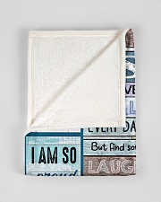 """FBC10032 - To My Son You Are My Sunshine Small Fleece Blanket - 30"""" x 40"""" aos-coral-fleece-blanket-30x40-lifestyle-front-17"""
