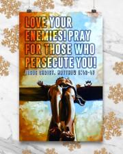 JES10035PT - Jesus Christ Love Your Enemies 11x17 Poster aos-poster-portrait-11x17-lifestyle-25