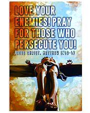 JES10035PT - Jesus Christ Love Your Enemies 11x17 Poster front