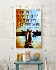 JES10035PT - Jesus Christ Love Your Enemies 11x17 Poster lifestyle-holiday-poster-3