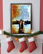 JES10035PT - Jesus Christ Love Your Enemies 11x17 Poster lifestyle-holiday-poster-4