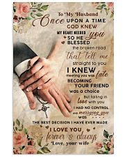 CV10007-1 - To My Husband Once Upon A Time 11x17 Poster front