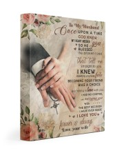 CV10007-1 - To My Husband Once Upon A Time Gallery Wrapped Canvas Prints tile