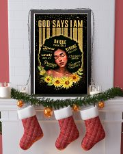 CV10020D - God Says I Am 16x24 Poster lifestyle-holiday-poster-4