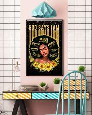 CV10020D - God Says I Am 16x24 Poster lifestyle-poster-6