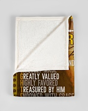 """Jes10085 - Daughter Designed By God Small Fleece Blanket - 30"""" x 40"""" aos-coral-fleece-blanket-30x40-lifestyle-front-17"""