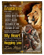 """Jes10085 - Daughter Designed By God Small Fleece Blanket - 30"""" x 40"""" front"""