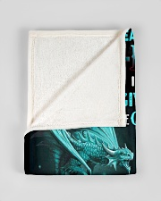 """FBC10040 - Son In Law Dragons Small Fleece Blanket - 30"""" x 40"""" aos-coral-fleece-blanket-30x40-lifestyle-front-17"""