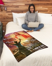 """JES10079BL - A Prayer For My Son Small Fleece Blanket - 30"""" x 40"""" aos-coral-fleece-blanket-30x40-lifestyle-front-08"""