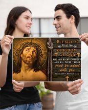JES10016PT - Jesus Christ Kingdom Of God 17x11 Poster poster-landscape-17x11-lifestyle-20
