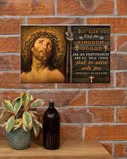 JES10016PT - Jesus Christ Kingdom Of God 17x11 Poster poster-landscape-17x11-lifestyle-23