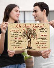 CV10002-1 - My Angel Husband Cardinals 17x11 Poster poster-landscape-17x11-lifestyle-20