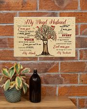 CV10002-1 - My Angel Husband Cardinals 17x11 Poster poster-landscape-17x11-lifestyle-23