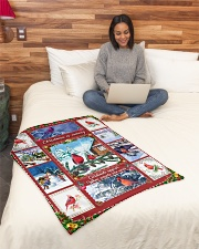 """BL10026 - Cardinals Angels Christmas Small Fleece Blanket - 30"""" x 40"""" aos-coral-fleece-blanket-30x40-lifestyle-front-08"""