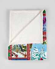 """BL10026 - Cardinals Angels Christmas Small Fleece Blanket - 30"""" x 40"""" aos-coral-fleece-blanket-30x40-lifestyle-front-17"""