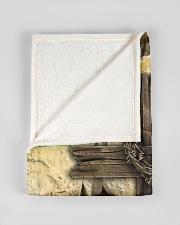"Jes10093 - Jesus Way Maker Miracle Worker Small Fleece Blanket - 30"" x 40"" aos-coral-fleece-blanket-30x40-lifestyle-front-17"