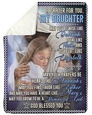 JES10054BL -  A Prayer For Daughter Sherpa Fleece Blanket tile