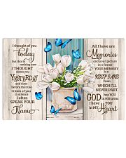 FAM10121CV - I Thought Of You Today Horizontal Poster tile