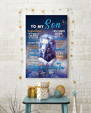 CV10026 - To My Son Dad Letter Lion 11x17 Poster lifestyle-holiday-poster-3
