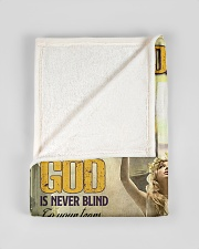 """Jes10087 - God Is Never Blind To Your Tears Small Fleece Blanket - 30"""" x 40"""" aos-coral-fleece-blanket-30x40-lifestyle-front-17"""