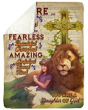 JES10094 - You Are A Daughter Of God Sherpa Fleece Blanket tile