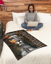 """JES10081BL - A Prayer For My Son Small Fleece Blanket - 30"""" x 40"""" aos-coral-fleece-blanket-30x40-lifestyle-front-08"""