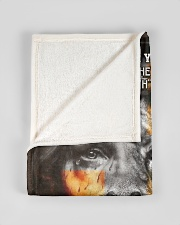 """JES10081BL - A Prayer For My Son Small Fleece Blanket - 30"""" x 40"""" aos-coral-fleece-blanket-30x40-lifestyle-front-17"""