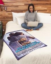 "JES10040BL - Jesus Christ  Small Fleece Blanket - 30"" x 40"" aos-coral-fleece-blanket-30x40-lifestyle-front-08"