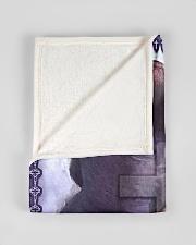 "JES10040BL - Jesus Christ  Small Fleece Blanket - 30"" x 40"" aos-coral-fleece-blanket-30x40-lifestyle-front-17"
