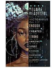 CV10012 - You Are Beautiful 11x17 Poster front