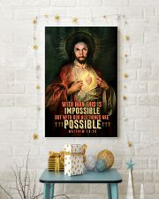 JES10002PT - Jesus Christ All Things Are Possible 11x17 Poster lifestyle-holiday-poster-3