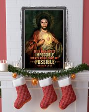 JES10002PT - Jesus Christ All Things Are Possible 11x17 Poster lifestyle-holiday-poster-4