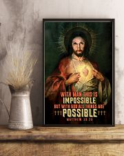 JES10002PT - Jesus Christ All Things Are Possible 11x17 Poster lifestyle-poster-3