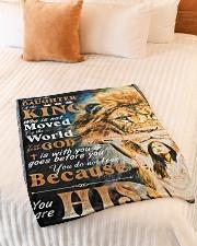 "JES10048BL - Jesus Christ  Small Fleece Blanket - 30"" x 40"" aos-coral-fleece-blanket-30x40-lifestyle-front-01"