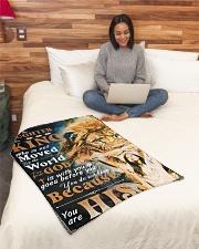 "JES10048BL - Jesus Christ  Small Fleece Blanket - 30"" x 40"" aos-coral-fleece-blanket-30x40-lifestyle-front-08"