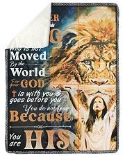 JES10048BL - Jesus Christ  Sherpa Fleece Blanket tile