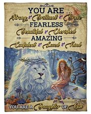 """JES10098 - You Are A Daughter Of God Small Fleece Blanket - 30"""" x 40"""" front"""